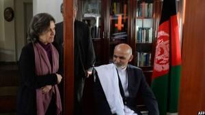 در سال 2014 پس از راهیابی اشرف غنی به ارگ ریاست جمهوری، رولا غنی بانوی اول افغانستان شد