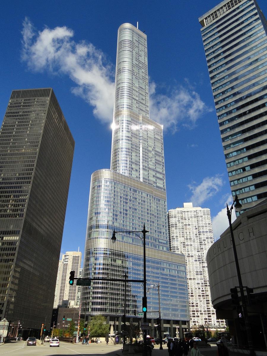 برج دیگرِ ترامپ در شیکاگو