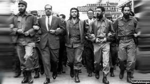 فیدل کاسترو، چگوارا و رفقای انقلابی آنان
