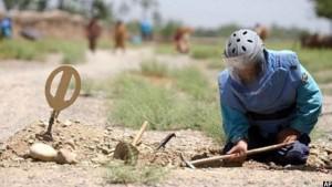 برنامه ماین پاکی در افغانستان با کمبود بودجه روبرو است