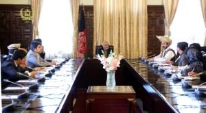 چند شب قبل رییس جمهور غنی با عده ای از نمایندگان مردم در ارگ دیده داشته است