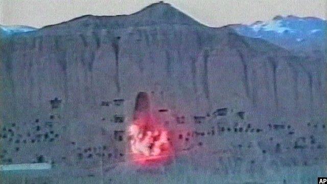 جریان انفجار دادن بودای بامیان
