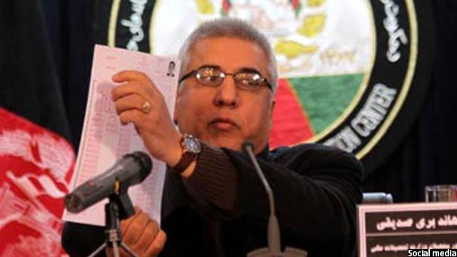 بری صدیقی معین وزارت تحصیلات عالی افغانستان