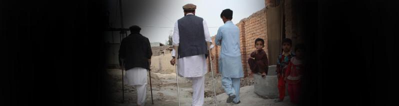 ۱۱۰ هزار معلول، میراث سه دهه جنگ در افغانستان