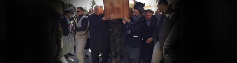بزرگداشت قهرمانانه؛ حضور رییس جمهور افغانستان در مراسم تدفین جنرال غوری
