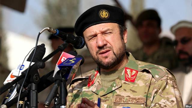 جنرال تاج محمد جاهد، وزیر امور داخله افغانستان
