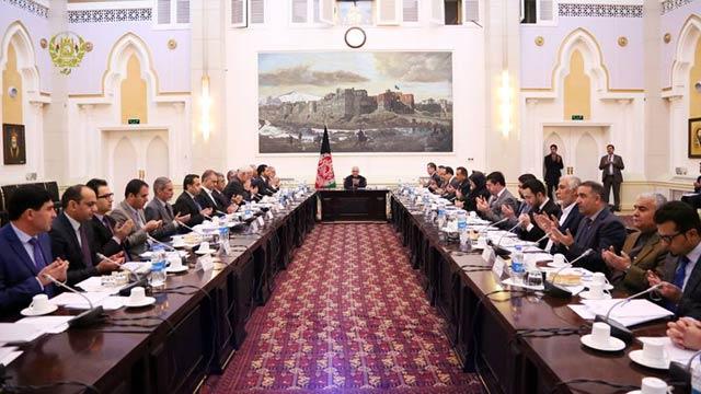 کمیسیون تدارکات ملی به ریاست رییس جمهور غنی ایجاد شده است