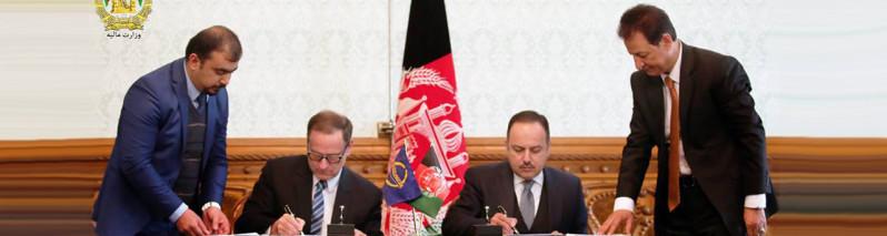 دستآورد دیگر؛ امضای موافقتنامه ۴۱۵ میلیون دالری افغانستان با بانک انکشاف آسیایی