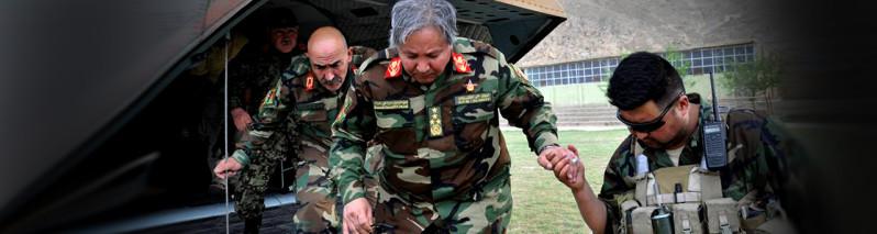 جنرال مرادعلی مراد؛ فرمانده همیشه در صحنه