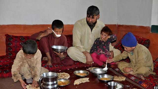 یکی از فامیل های که از اروپا دوباره به افغانستان برگشته است