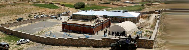 یک دهه انتظار؛ کار ساختمان چهار مکتب در بامیان تکمیل شد