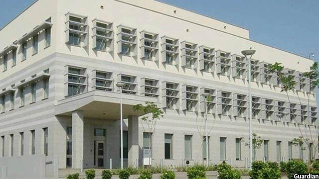 ساختمان سفارتخانهی اصلی آمریکا در پایتخت غنا