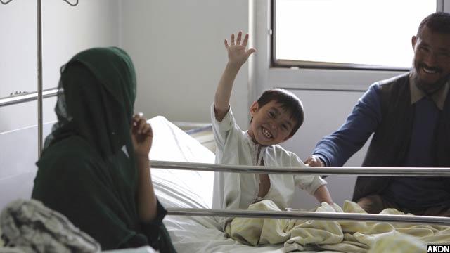 این شفاخانه تا کنون 2میلیون کودک را تداوی کرده است