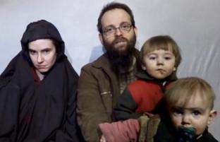 ۴ سال اسارت؛ طالبان فرزندان خانواده گروگان کانادایی-آمریکایی را نشان دادند