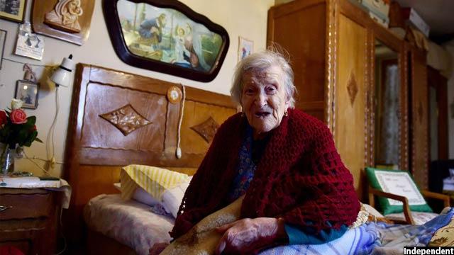 مسنترین فرد زندهی جهان