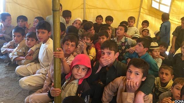 56 درصد از عودت کنندگان را کودکان تشکیل میدهند