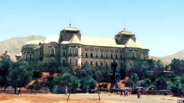 قصر دارالامان در زمان وقت
