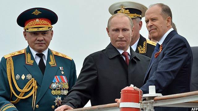 پوتین درسال 2012 میلادی، برای سومین بار به ریاست جمهوری این کشور رسید