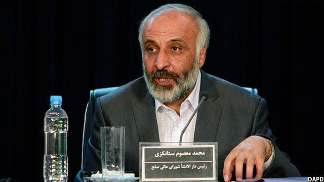 آقای استانکزی پیش از این به عنوان رییس دار الانشای شورای عالی صلح افغانستان نیز کار کرده است