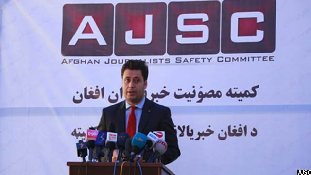 نجیب شریفی، رییس کمیته مصوونیت خبرنگاران افغانستان