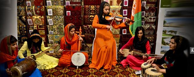 حضور جهانی؛ اجرای آرکستر دختران افغان در مجمع جهانی اقتصاد