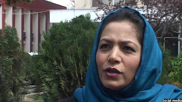 Afghan MP Shakiba Hashemi