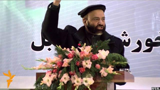 ارغندیوال، رئیس حزب اسلامی ثبت شده در وزارت عدلیه افغانستان
