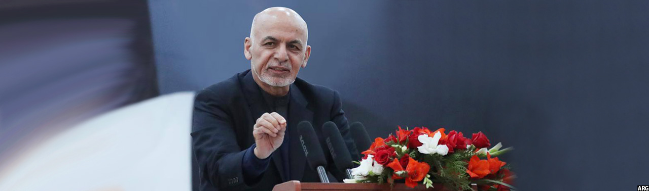 مراوده دو متحد جدید؛ رییس جمهور افغانستان وارد مزار شریف شد