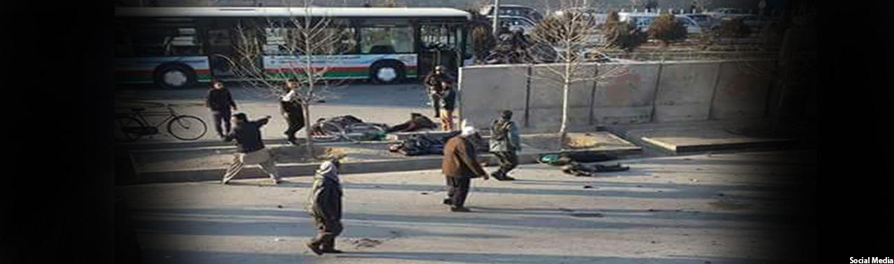 دو انفجار پیدرپی در سرک دارالامان کابل؛ طالبان مسوولیت این حملات را برعهده گرفته اند