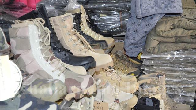 اکثر محصولات این مارکیت اجناسی اند که نیروهای نظامی امریکا استفاده میکنند
