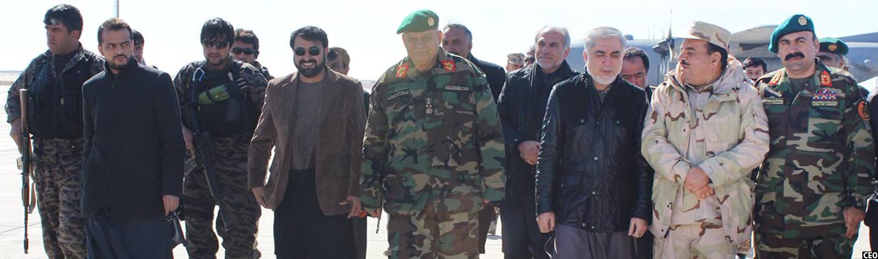 فصل باز هلمند؛ ورود رییس اجرایی افغانستان به لشکرگاه و نگرانی از بازخیزش شورشیان