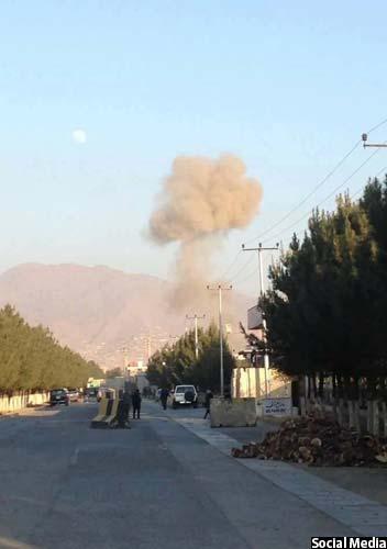 انفجار حوالی ساعت چهار امروز در سرک دارالامان کابل به وقوع پیوست
