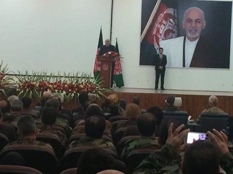 رییس جمهور افغانستان در این مراسم