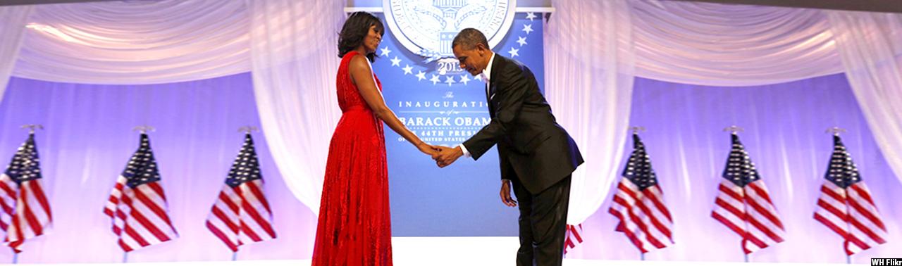 زوج دیدنی؛ لحظههای تماشایی باراک و مشل اوباما