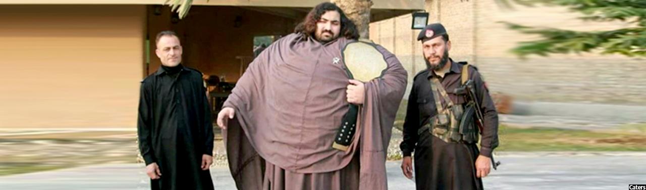 هالک پاکستان؛ جوانی که روزانه ۱۰هزار کالوری غذا میخورد