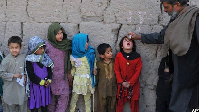 مقامات وزارت صحت افغانستان از تطبیق نشدن برنامه پولیو در مناطق نا امن در سال پیش رو، نگران اند