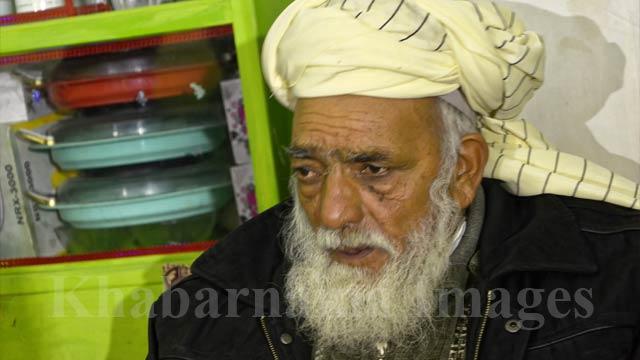 محمد یوسف مامای سه برادر کشته شده در قندهار