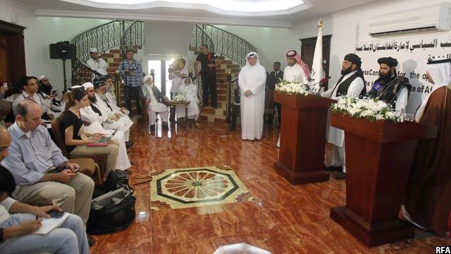 دولت افغانستان با ایجاد دفتر طالبان در قطر، تنها به منظور پیش برد گفتگوها و مذاکرات صلح، موافقت کرده بود