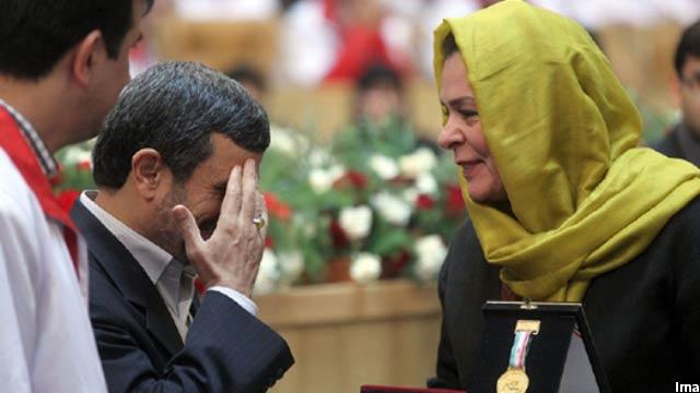 فاطمه گیلانی در سال 2014 برنده جایزه صلح ایران شد