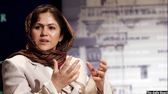 خانم کوفی اکنون نماینده مردم ولایت بدخشان در مجلس افغانستان است
