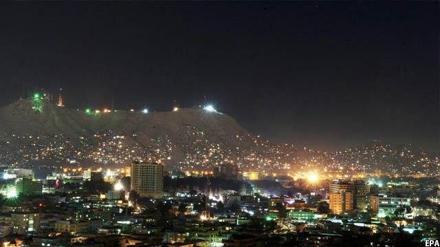 اخیرا تاجیکستان 30 میگاوات برق را به افغانستان کمک کرده است