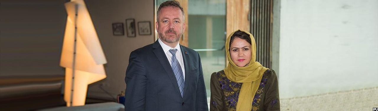 فعال بین المللی حقوق بشر؛ فوزیه کوفی  به ریاست کمیته حقوق بشر اتحادیه جهانی بین الپارلمانی برگزیده شد