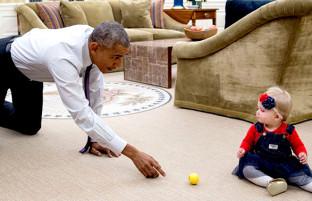 اوباما و عشق به کودکان در این سالها