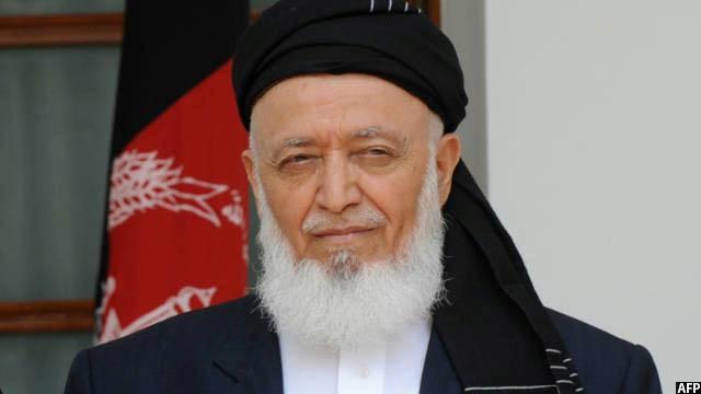 برهان الدین ربانی، رییس پیشین شورای عالی صلح افغانستان که توسط طالبان ترور شد