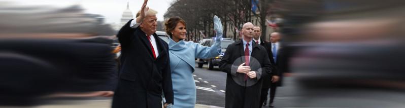 محافظ خاص رییسجمهور آمریکا چهار دست دارد