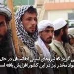 گزارش یک نهاد بازرسی امریکا از کنترول 57 درصدی خام افغانستان توسط دولت این کشور خبر می دهد