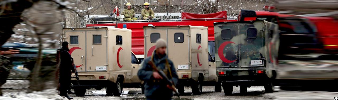داعش مسوولیت حمله انتحاری بر کارمندان دادگاه عالی افغانستان را برعهده گرفت