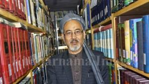 ضامنعلی احمدی، مدیر کتابخانه عمومی دارالقران کابل