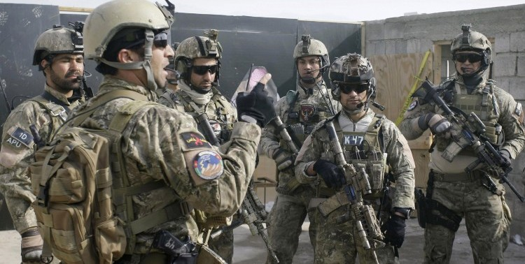Elite forces of Afghanistan