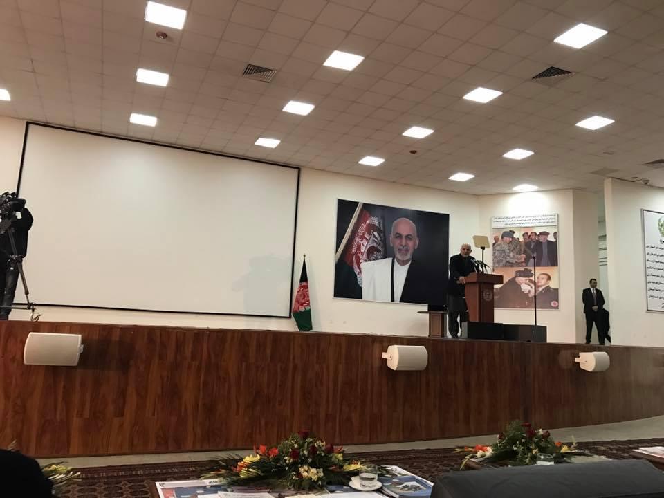 رییسجمهور غنی در مراسم امروز / عکس: رسانههای اجتماعی